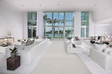 all white home interiors witte droomhuis in miami inrichting huis com