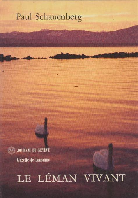 Livres Le Lac L 233 Man Et Lausanne