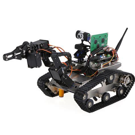 robot wifi th robot wifi intelligente fai da te crawler rc robot