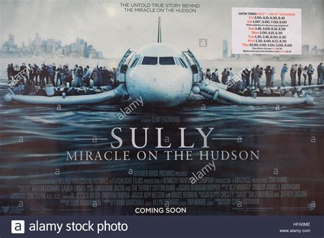 The Miracle On Free Sully Miracle On The Hudson Poster Stock Photo Royalty Free Image 129912510 Alamy