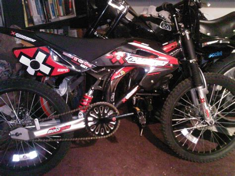 where to buy motorcycle 52cc stage 2 cag cvt powered x games motobike motorized