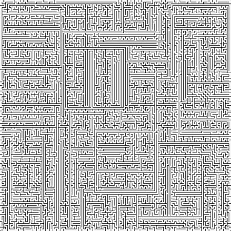 printable hardest maze ever think labyrinth maze algorithms