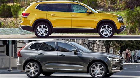 volkswagen volvo 2017 volkswagen atlas vs 2017 volvo xc60