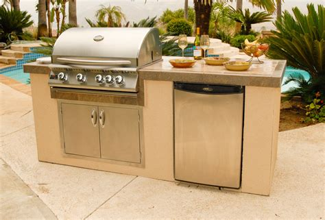 outdoor kitchen island triyae backyard kitchen kits various design