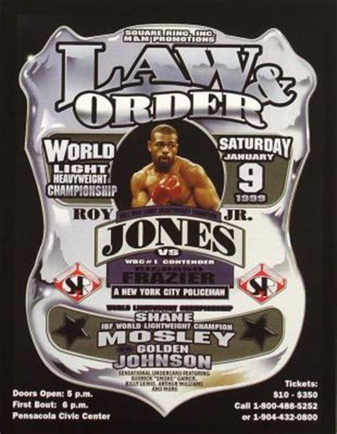 Jones On Order by Roy Jones Jr Vs Richard Frazier Fan Scorecards Eye On