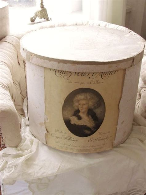 17 best images about shabby brocante hat boxes on