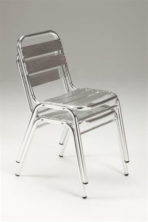 sedie in alluminio sedia da esterno in alluminio anodizzato lucido malaga