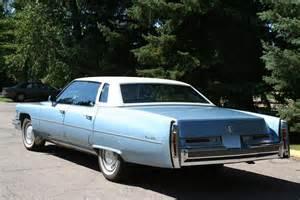 Cadillac Sedan 1976 1976 Cadillac De Ville 4 Door Sedan Barrett Jackson