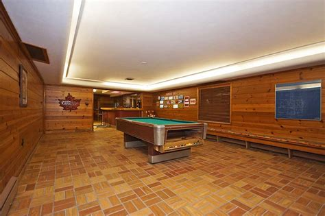 wood paneling basement 1950 time capsule house with 7 vintage bathrooms grosse
