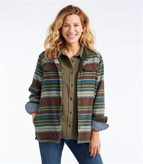 Fleece Lined Striped Shirt s fleece lined flannel hoodie stripe
