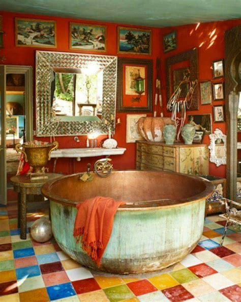 boho colors bohemian bathroom colour boho chill bath tub