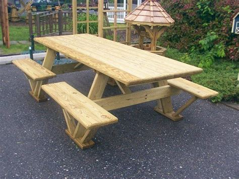picnic bench ideas 25 best ideas about picnic table plans on pinterest diy