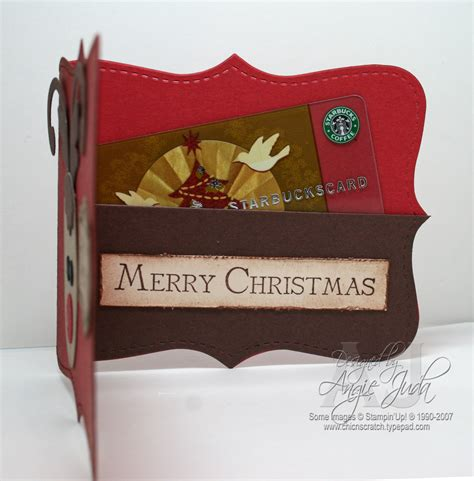 Reindeer Gift Card Holder - reindeer gift card holder chic n scratch