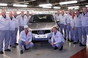Nissan Corporate Discount Nissan Sunderland Plant Celebrates Production Of 1 Million