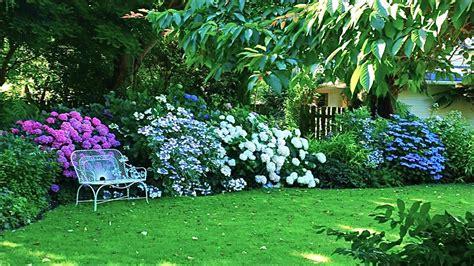 gardening picture garden hortensia house garden