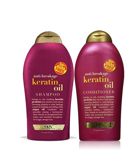 Shoo Ogx keratin shoo and conditioner organix keratin shoo and