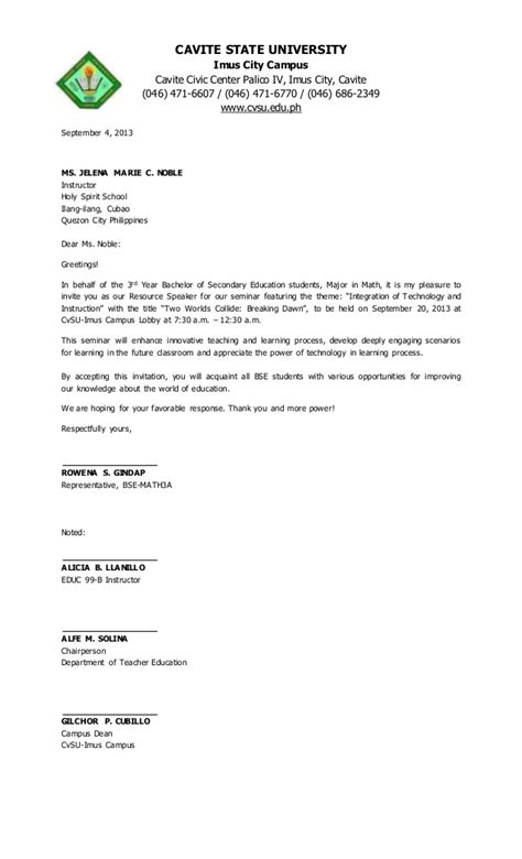 Sle Letter To Conduct Research Study Letter Of Invitation For Speaker Ideas Sle Letter To
