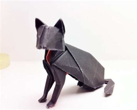 Origami Black Cat - 78 best images about origami animals on dollar