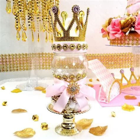 Crown Baby Shower Decorations by Crown Royal Princess Baby Shower Centerpiece Pink