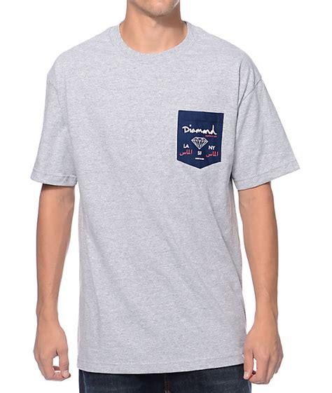 Season Label Pocket Shirt Grey supply co city label grey pocket t shirt zumiez
