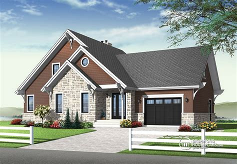 Drummond House Plan Chalet Plus Garage Drummond House Plans