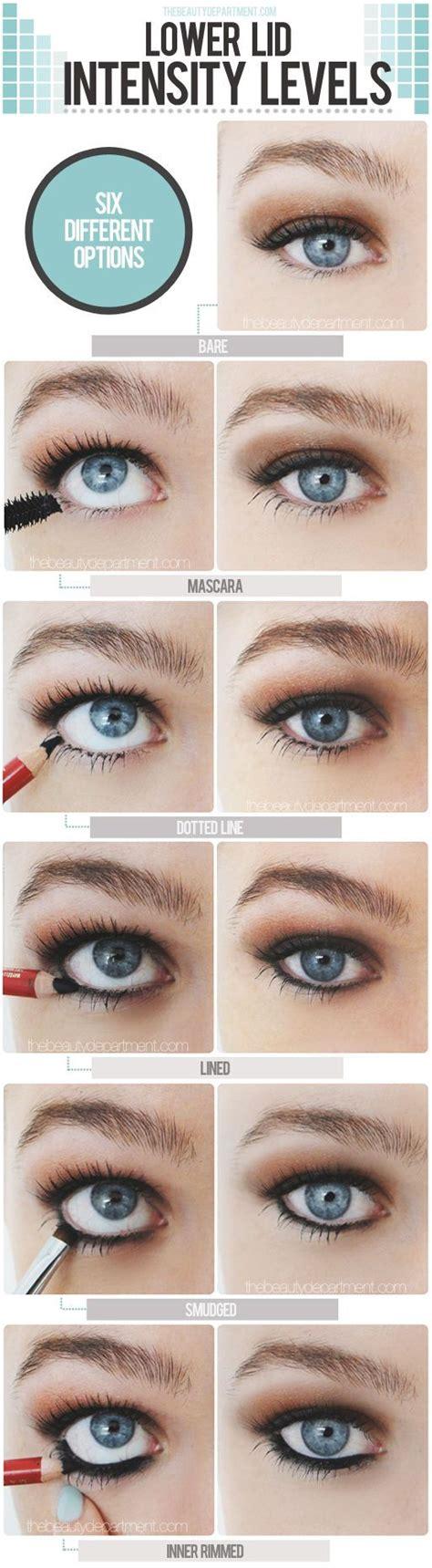 eyeliner tutorial top and bottom 25 best ideas about bottom eyeliner on pinterest face