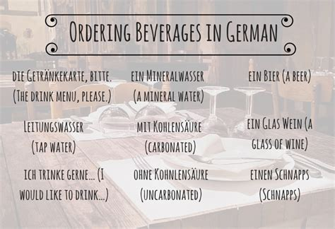common german phrases and etiquette tips for dining out