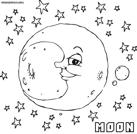 Moon Coloring Pages Coloring Pages To Download And Print Coloring Pages Moon