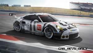 Porsche Rsr 2015 Porsche 911 Gt3 R Vs Gt3 Cup Vs Gt3 Rsr