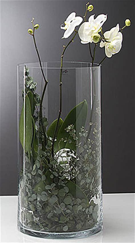 vase en verre cylindrique droit biseaux mariage vases