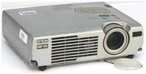 epson emp 703 lcd beamer projektor 1000ansi lu c ware