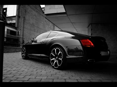 black bentley back 2008 project kahn bentley gts black edition james tombs