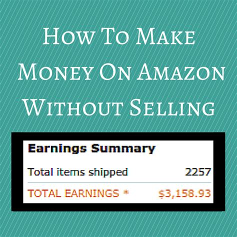 How To Make Money Online Without Selling - the methodical teen how to make money on amazon without selling