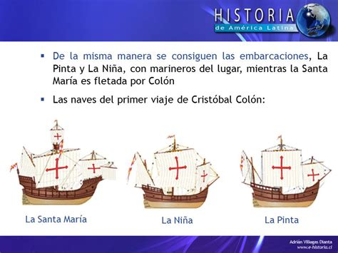 historia de los 3 barcos de cristobal colon descubrimiento de am 233 rica ppt video online descargar