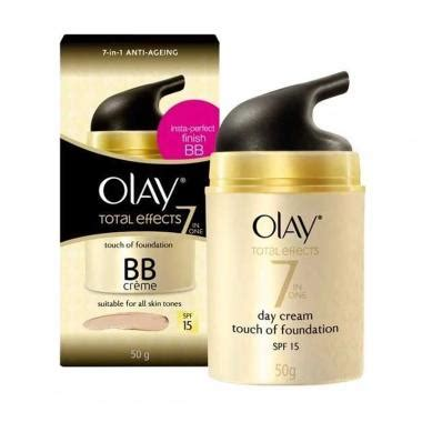 Olay Total Effect Di Indo jual olay total effects touch of foundation spf 15