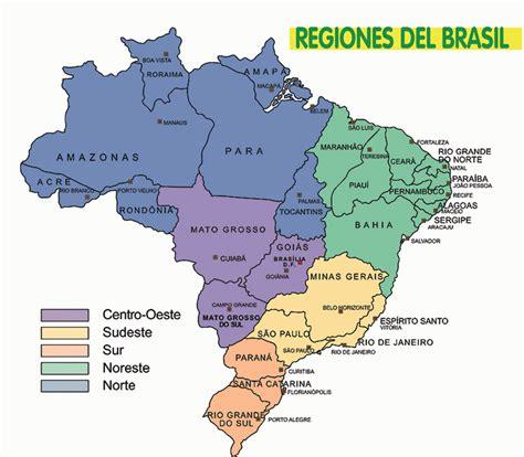 imagenes satelitales brasil mapa de brasil turismo brasil
