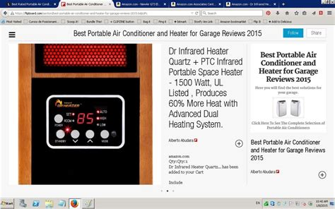 List Ac Portable best portable air conditioner and heater for garage