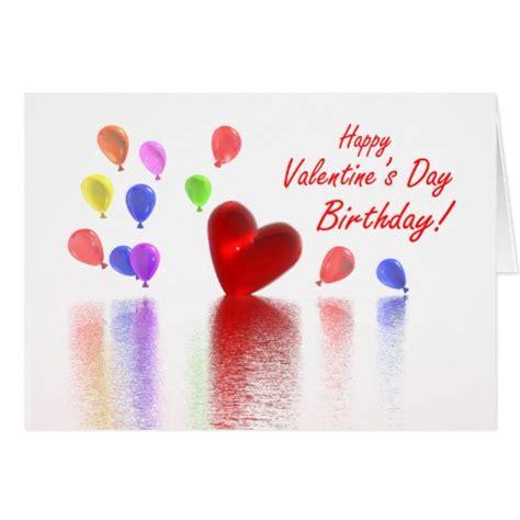valentines birthday birthday celebration greeting card zazzle