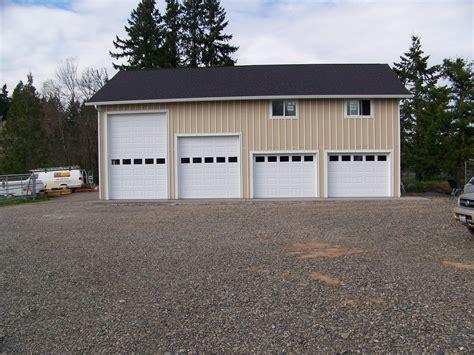 10x10 wood garage door center design