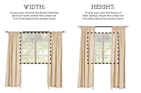 Easy Way To Hang Curtains Decorating Easy Basic Tips On How To Hang Simple Curtains And Drapery Panels Culture Scribe