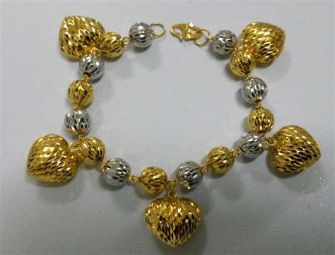 Gelang Bangkok Lebar Lapisan Emas kedai emas 916 adila menjual barang kemas 916 murah cantik dan terkini jualan murah barang