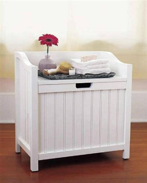 bathroom bench her bathroom storage stool molger storage stool from ikea