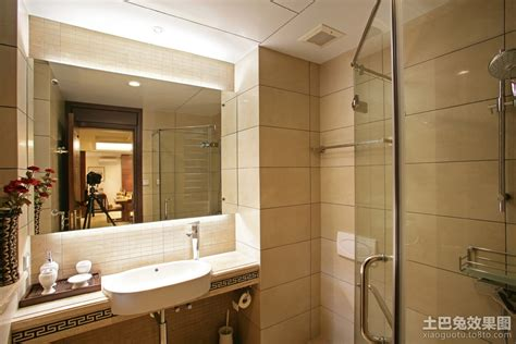 bathroom division 中式干湿分离卫生间装修效果图 土巴兔装修效果图