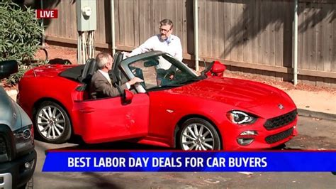 Best Car Deals Labor Day Four Of The Best Labor Day Deals For Car Buyers Fox40