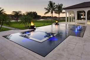 designer pools perimeter overflow pools portfolio of aaa custom pools