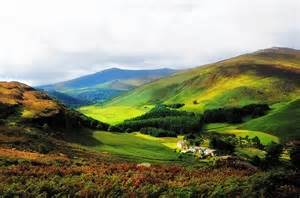 Rainbow Shower Curtain Where Is Soul Flying Wicklow Mountains Ireland