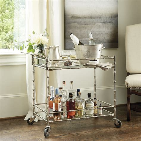bar cart european inspired home furnishings
