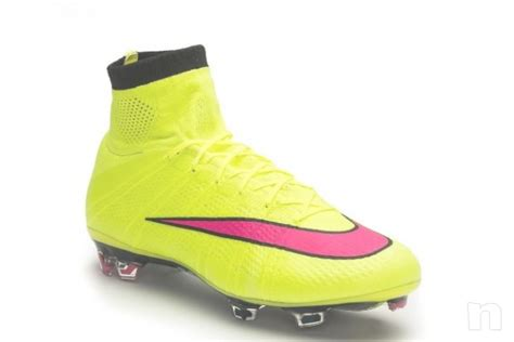 Nike Mercurial Superfly Fg 652 scarpe nike mercurial superfly fg giallo fluo calcio in