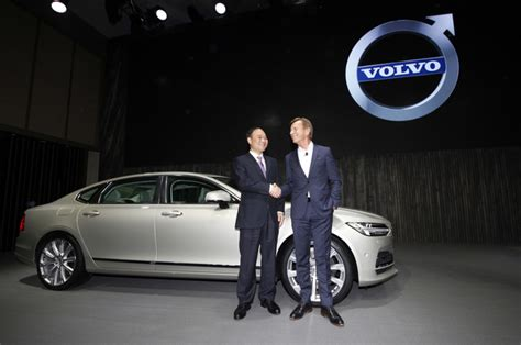 Volvo Cars Ceo Geely Volvo Target World Market With China Built Luxury