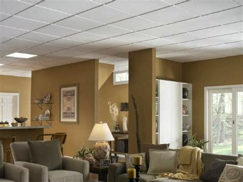 Residential Suspended Ceiling Systems Homestyle Ceilings Smooth Paintable 2 X 2 Panel